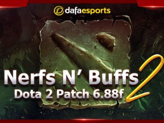 Dota 2 Version 6.88f Nerfs N' Buffs