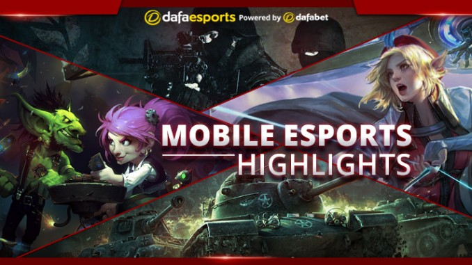 Most influential mobile eSports of 2016