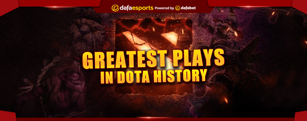 Top plays in Dota 2 competitive history