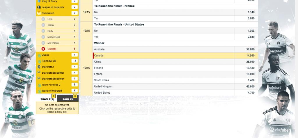 OVERWATCH WORLD CUP QF2 Screenshot