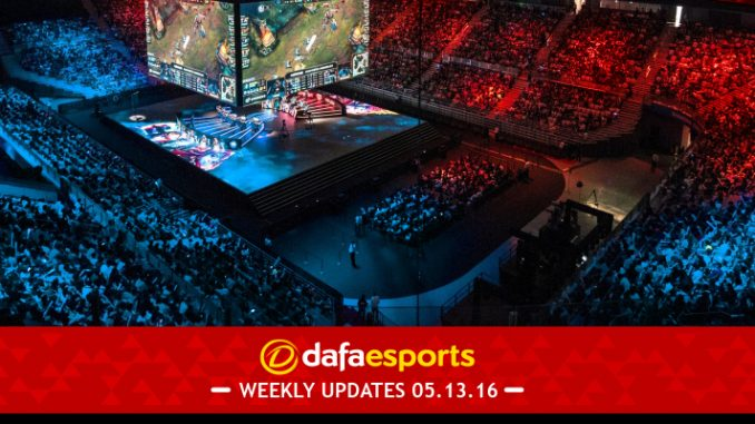 eSports Weekly Update May 13 2016