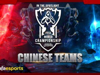 LoL World 2016 Chinese Team