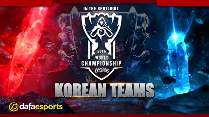 LoL World Championship 2016 Korean Team