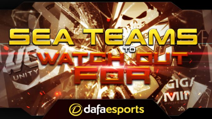 SEA Dota Teams 2016