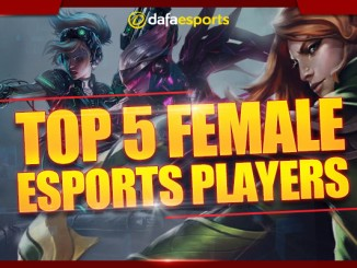 Top 5 female eSports earners
