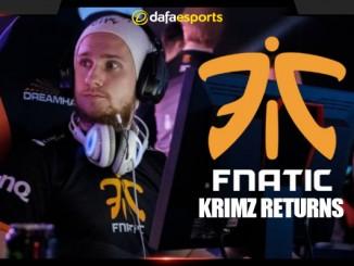 KRiMZ returns to Fnatic
