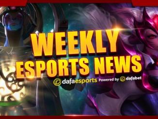 Weekly eSports News 12.16
