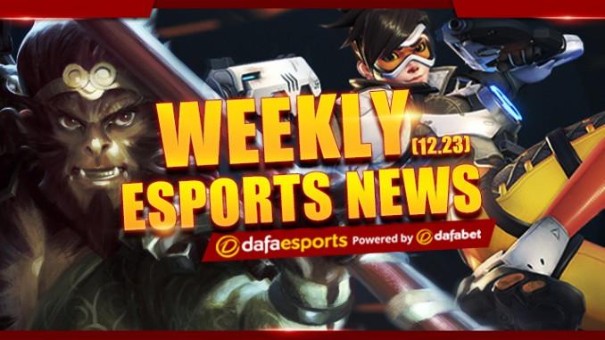 Weekly eSports Recap 12.23