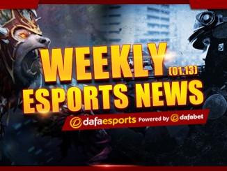 Weekly eSports Recap - Jan. 13 2017