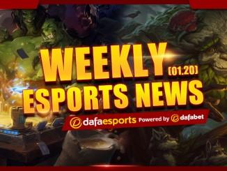 Weekly eSports Recap - Jan. 20, 2017
