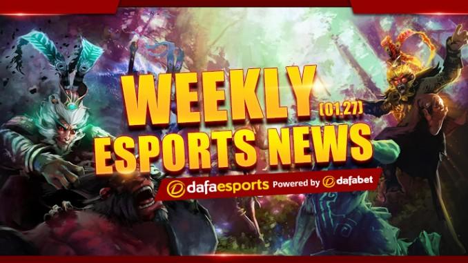 Weekly eSports Recap - Jan. 27, 2017