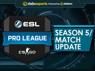 ESL Pro League Season 5 - Ongoing Match Update