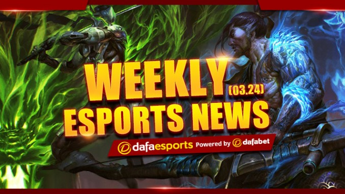 Weekly News Recap – March 24, 2017