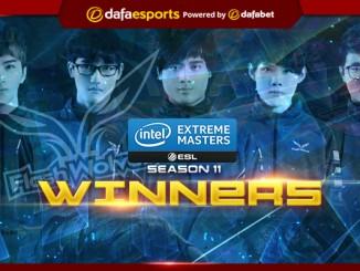 League of Legends - IEM Season 11 World Championship Winners