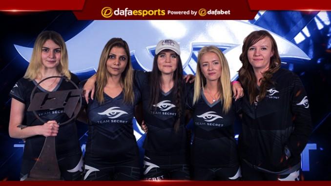 Team Secret Copenhagen Champions