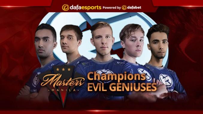 Manila Masters Evil Geniuses