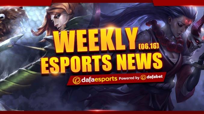 Weekly News Recap - June 16, 2017