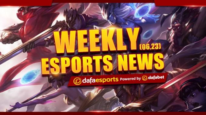 Weekly News Recap - June 23, 2017