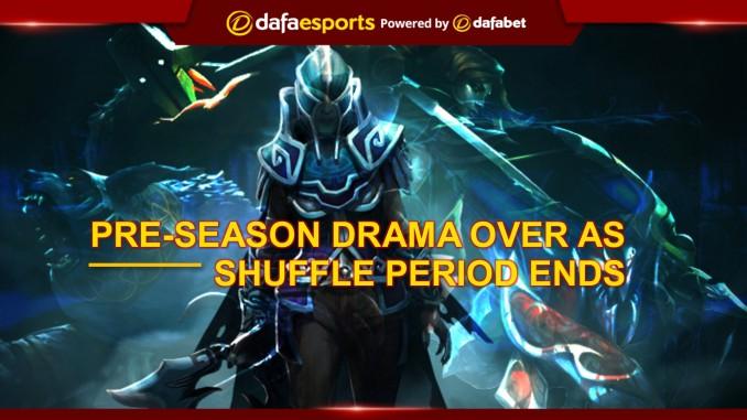 Pre-season drama over as Dota 2 shuffle period ends | Dafa