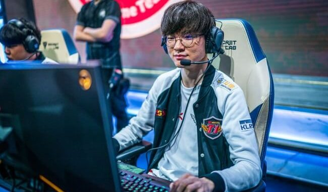 LCK Faker is the first player to reach 2,000 kills